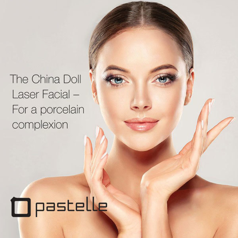 Pastelle China Doll facial about face skin and hair 600w